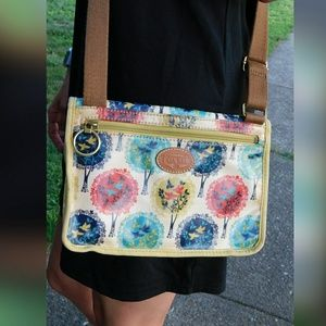 ☆ Adorable Fossil Bird Pattern Crossbody bag ☆